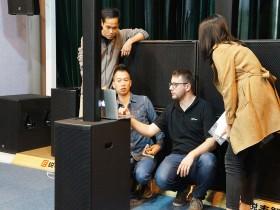 锐丰智能与Powersoft高级应用工程师交流研讨